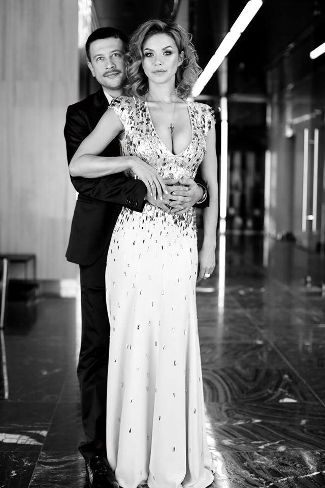 Дмитрий Ступка и Полина Логунова поженились