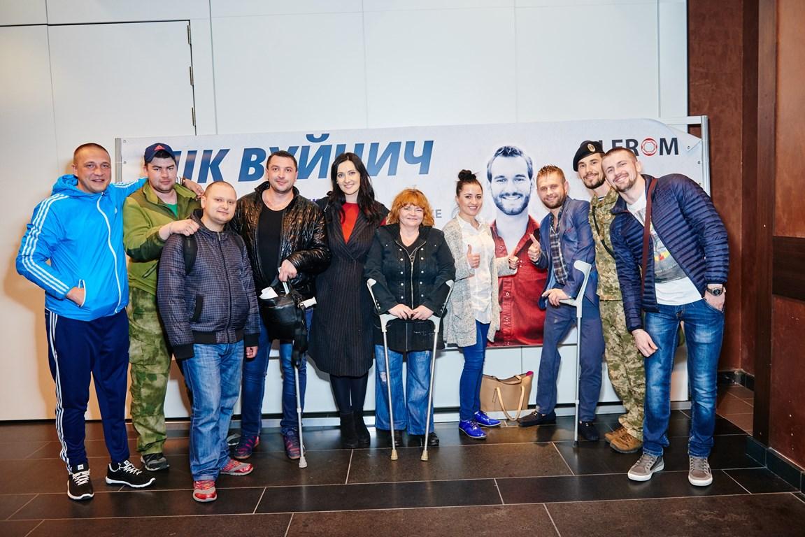 Ник Вуйчич снова посетит Украину