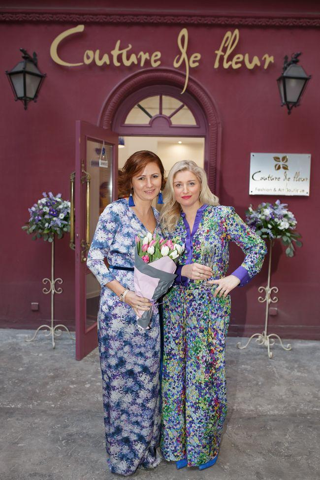 Звезды на открытии бутика Couture de Fleur