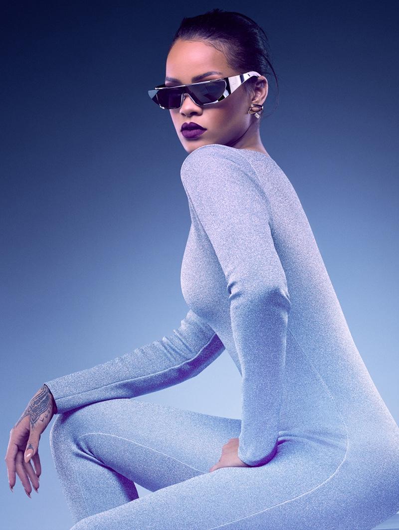 Рианна создала авторскую коллекцию очков для Dior