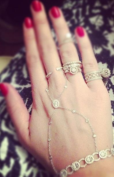 Ксения Собчак показала бриллианты
