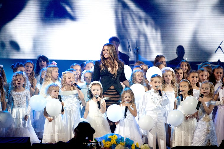 Наталья Могилевская выступила с концертом в Киеве