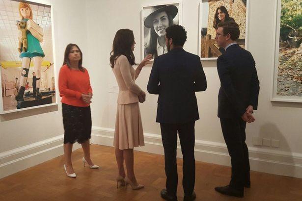 В Лондоне организовали выставку портретов Кейт Миддлтон для журнала Vogue