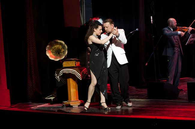 звезды на фестивале танго и джаза во Львове