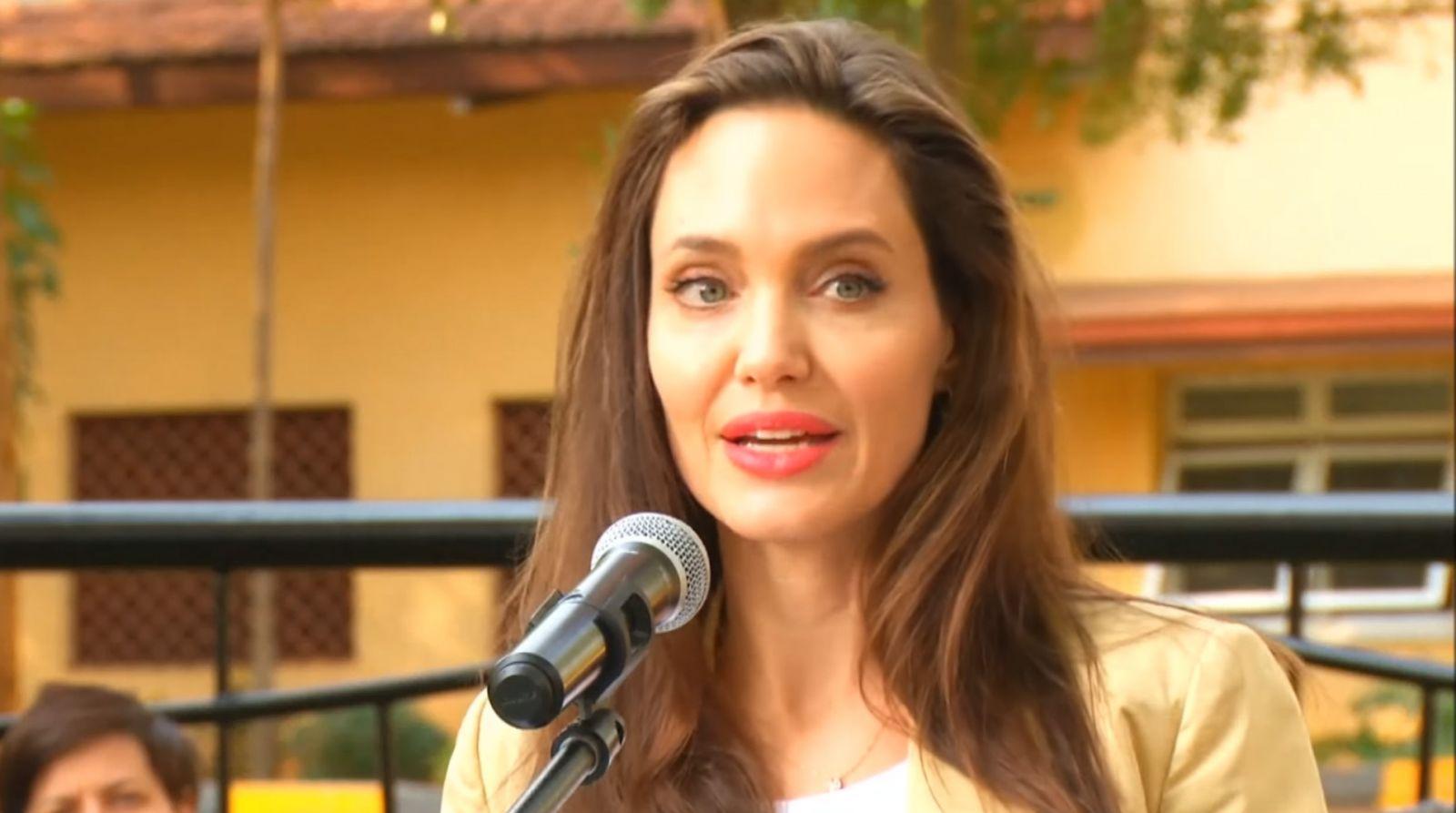 Анджелина Джоли выступила в Кении
