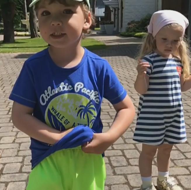 Дети Максима Галкина трогательно поздравили его с 41-летием
