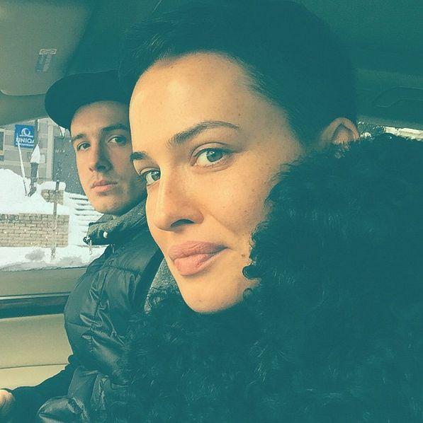 Даша Астафьева и ее брат Евгений