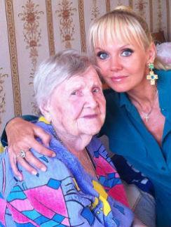 Валерия со своей 100-летней бабушкой