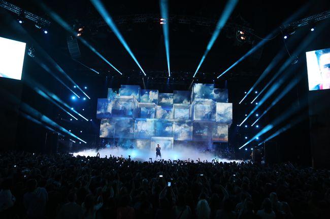 концерт Димы Билана в Москве