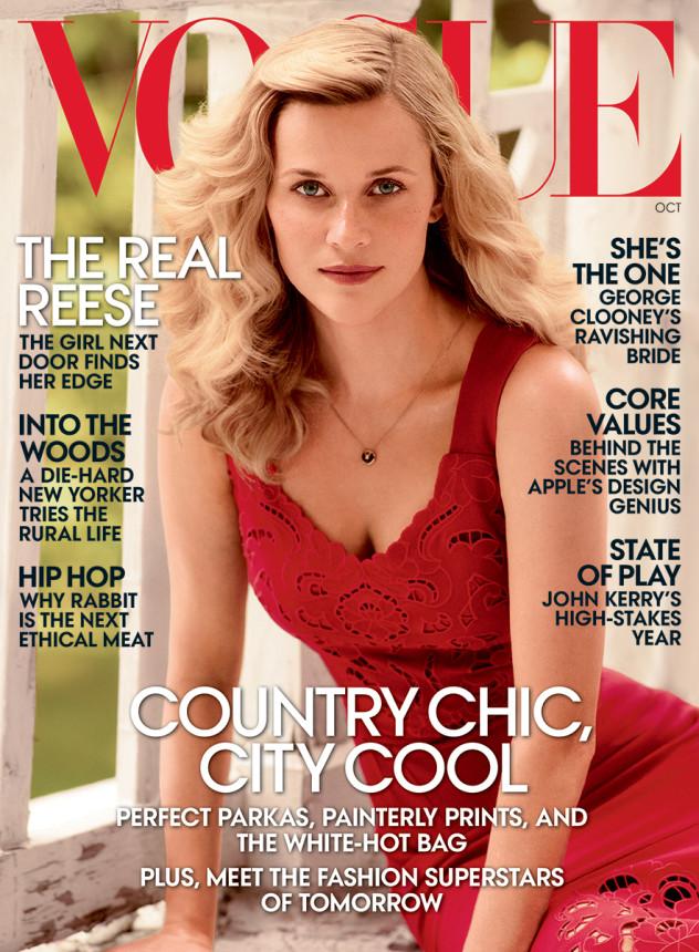 Риз Уизерспун блистает на страницах Vogue