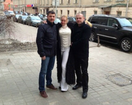 Анастасия Волочкова с Бахтияром