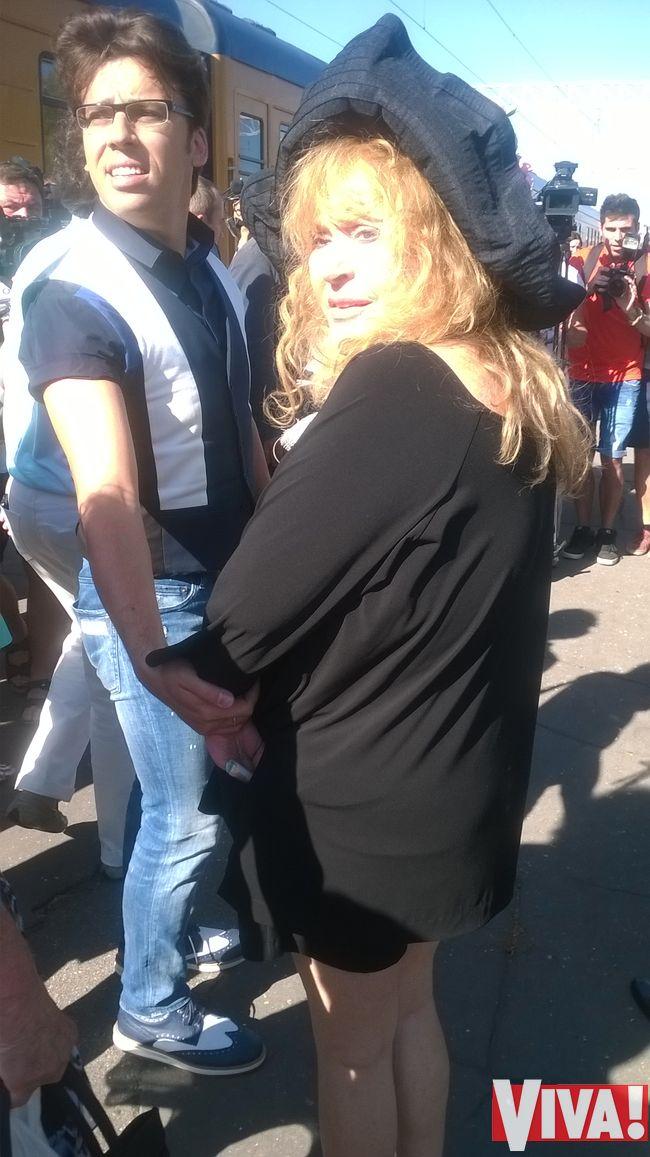 Алла Пугачева и Максим Галкин Новая волна 2014