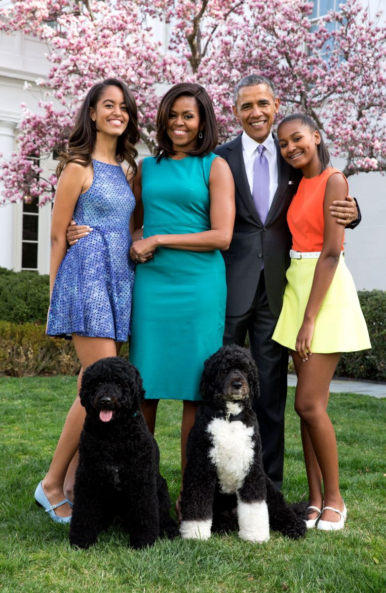 Семья Обамы