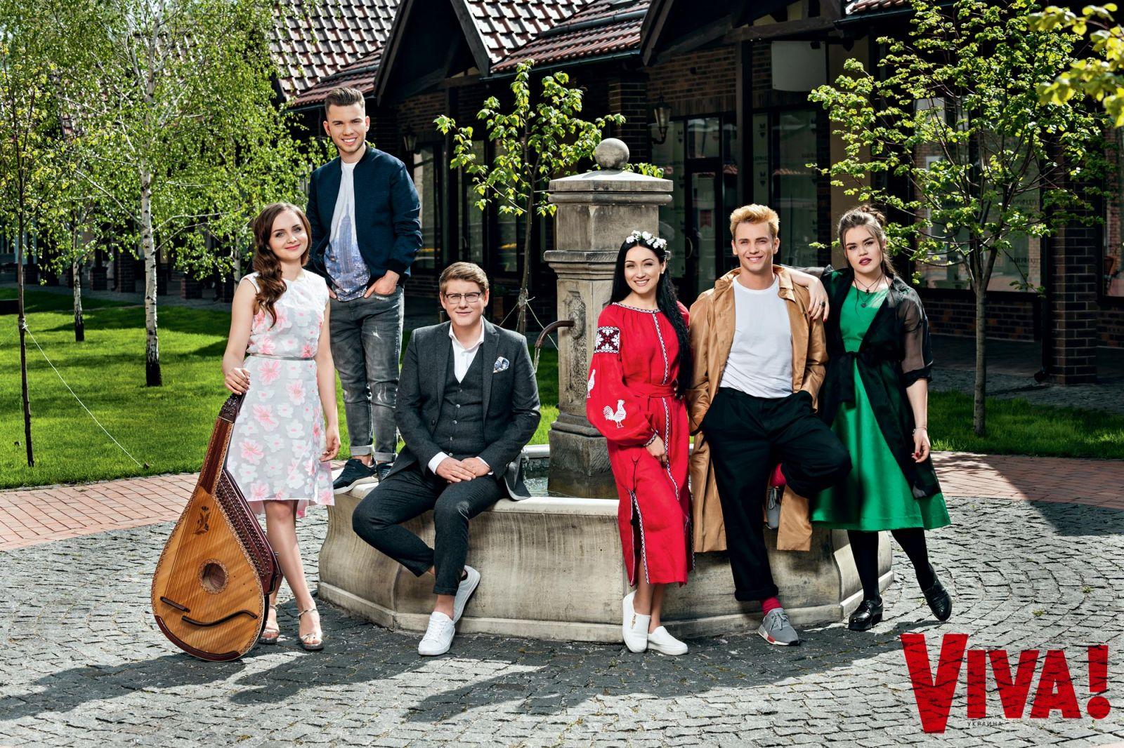 Участники шоу Голос-країни-6 снялись для Viva!