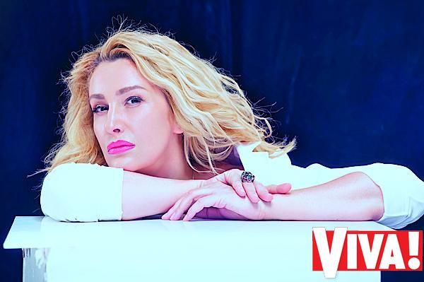 Снежана Егорова в фотосессии для Viva!