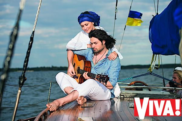Алена Мозговая и Владимир Ткаченко