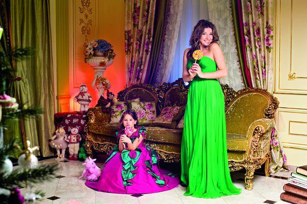 Жанна Бадоева с дочерью фото