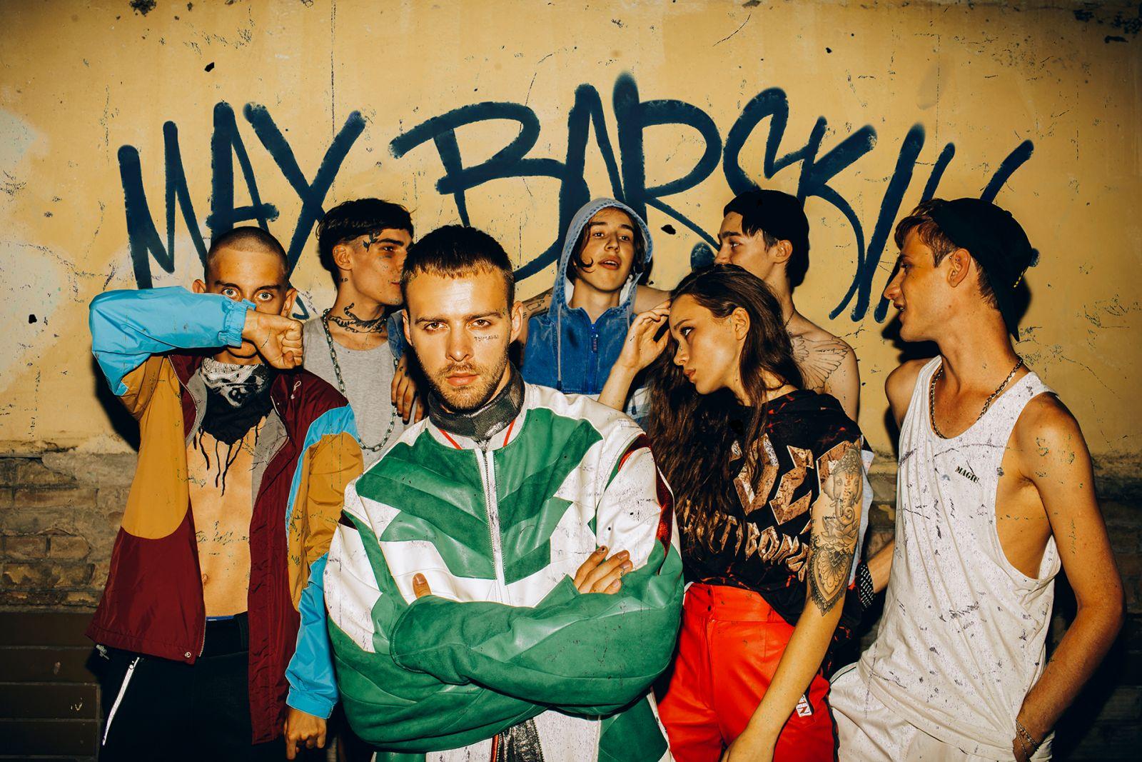 Макс Барских снялся в брутальной фотосессии