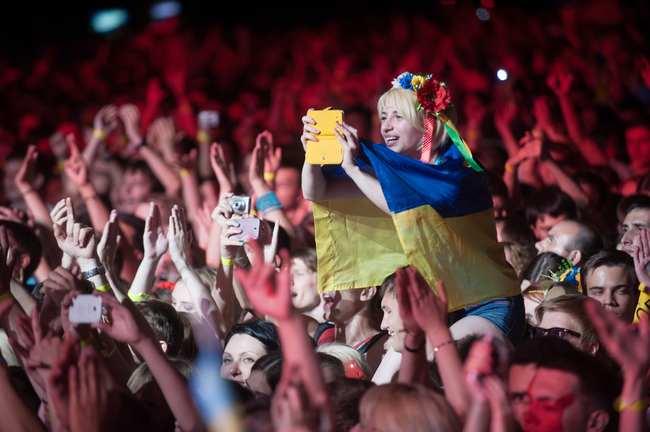 Святослав Вакарчук на концерте Океан Ельзи в Одессе
