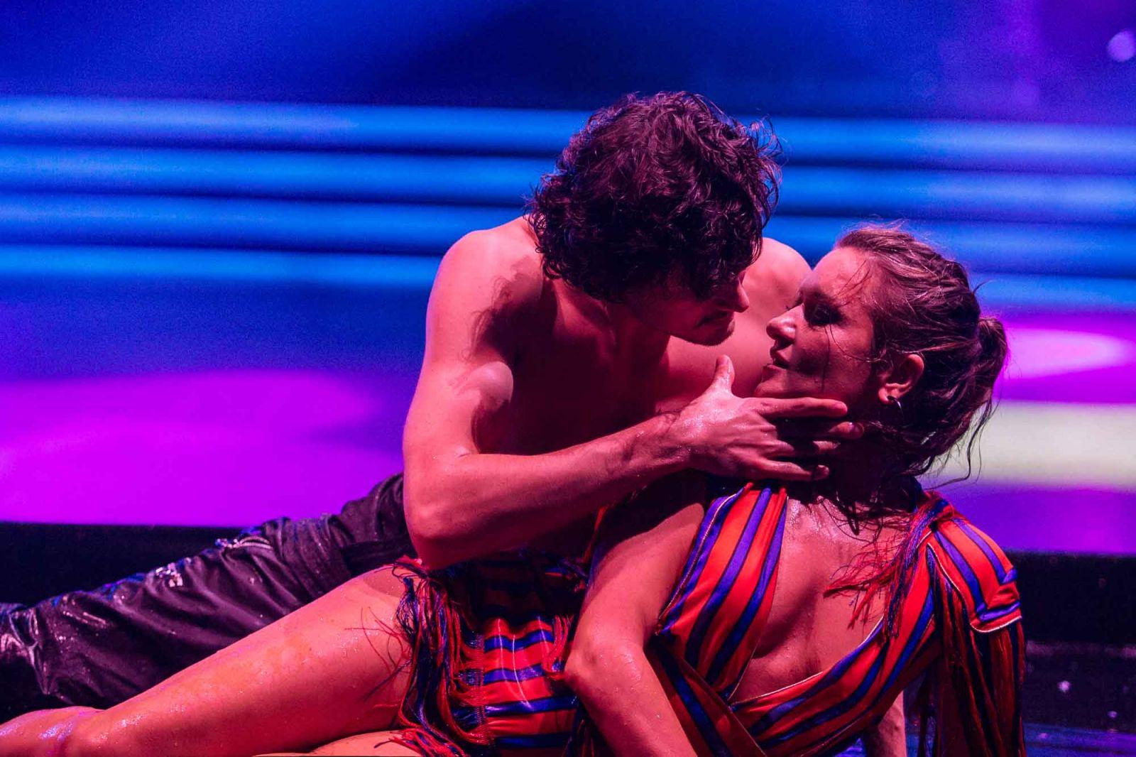 Наталья Могилевская на шоу Танці з зірками