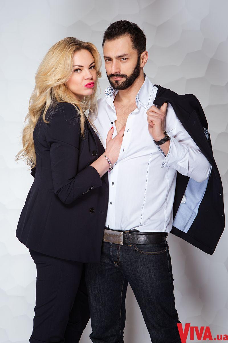 Андрей Kishe и его жена Оксана