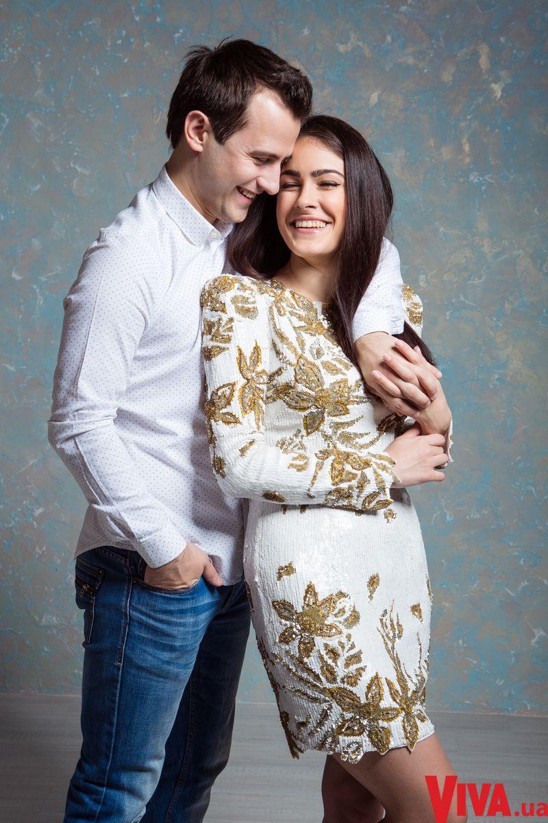 Маша Собко и ее муж Артем Онещак