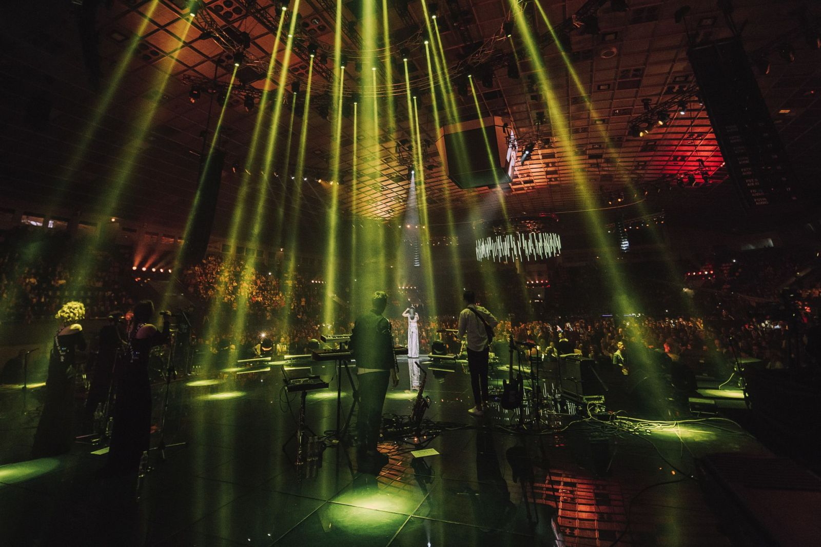 Концерт Джамалы во Дворце спорта