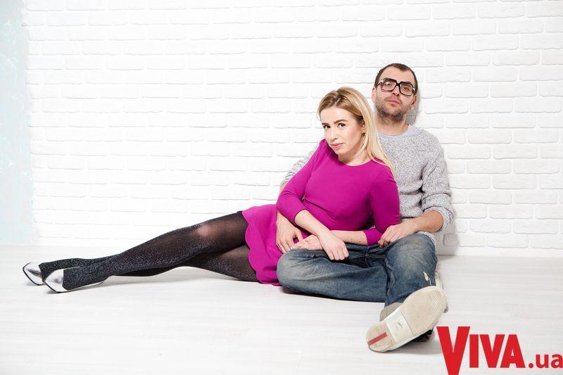 Елена Бурба и ее муж