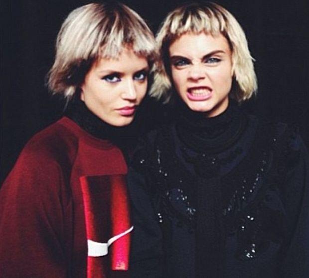 Кара Делевинь и Джорджия Мэй Джаггер фото