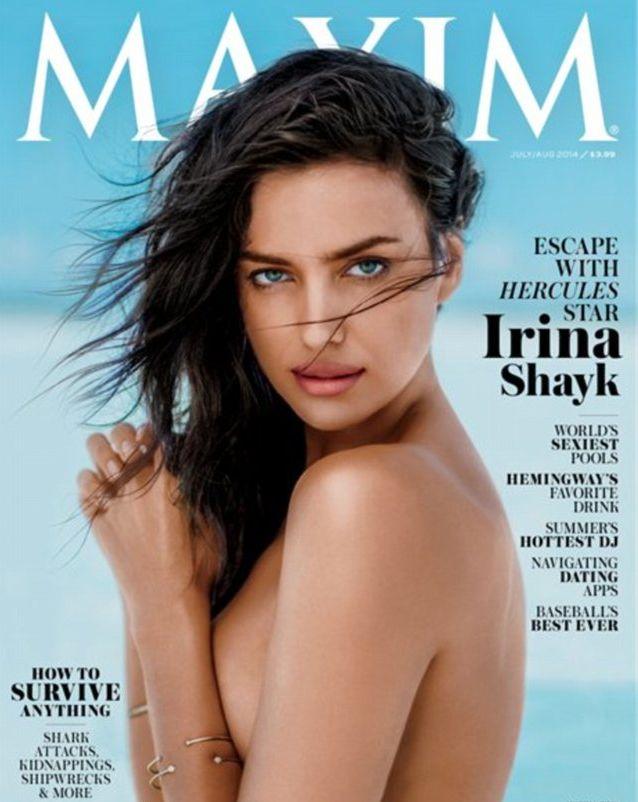 Ирина Шейк разделась для журнала Maxim