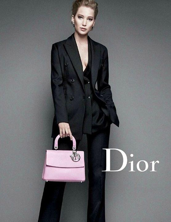 Дженнифер Лоуренс в новой рекламной фотосессии для Dior