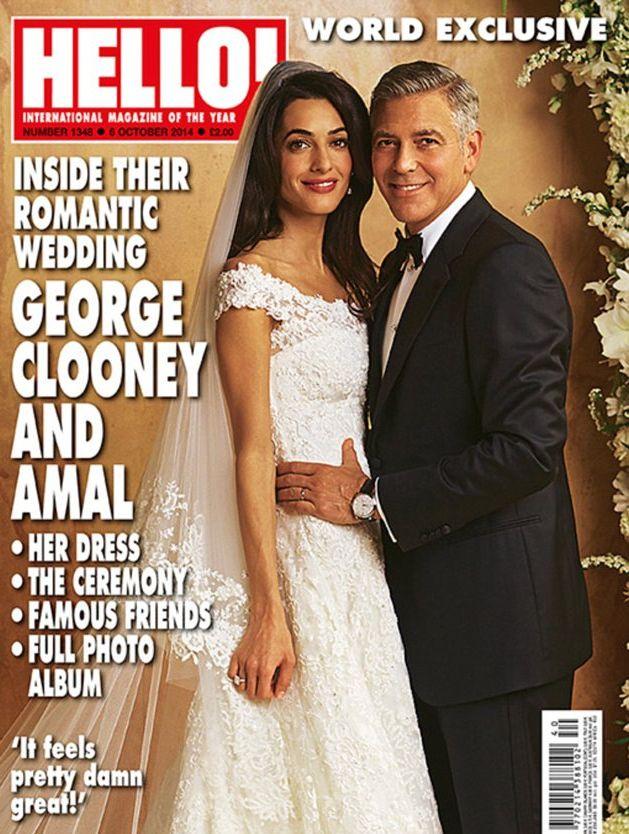 первые свадебные фото Джорджа Клуни