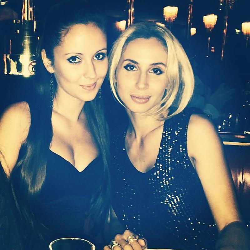 Светлана Лобода и ее сестра в Париже
