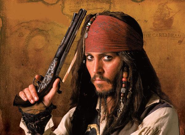 Джонни Депп сломал руку на съемках нового фильма