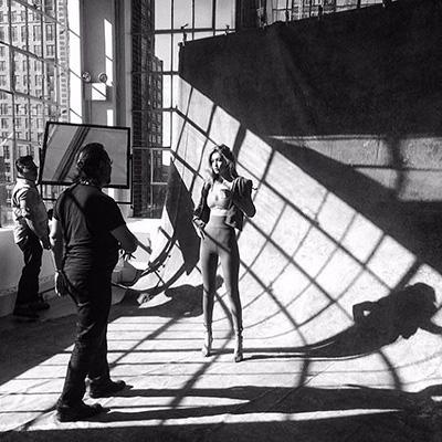 Ирина Шейк и Джиджи Хадид блистают на съемках для французского глянца