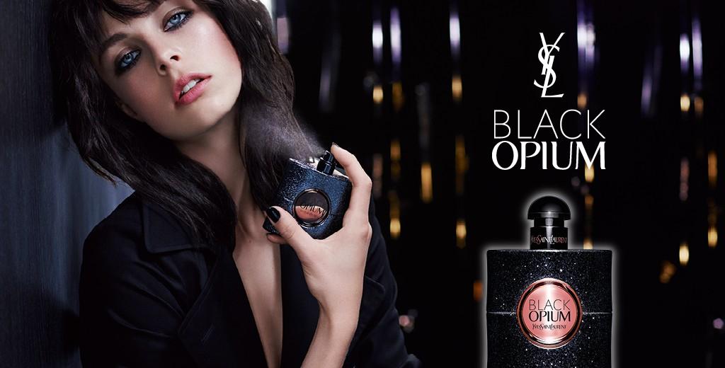 Лицом парфюма стала 24-летняя брюнетка с яркой внешностью, британская модель Эди Кэмпбелл