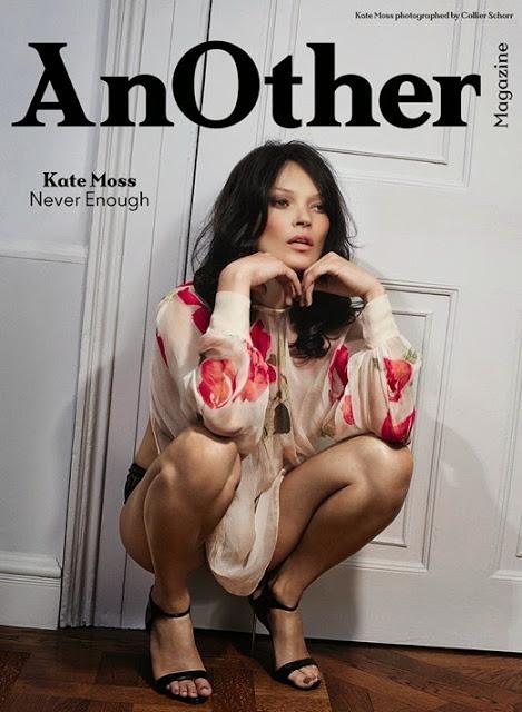 Кейт Мосс в новой фотосессии для глянца