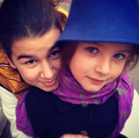 Иван Ургант и его дочери