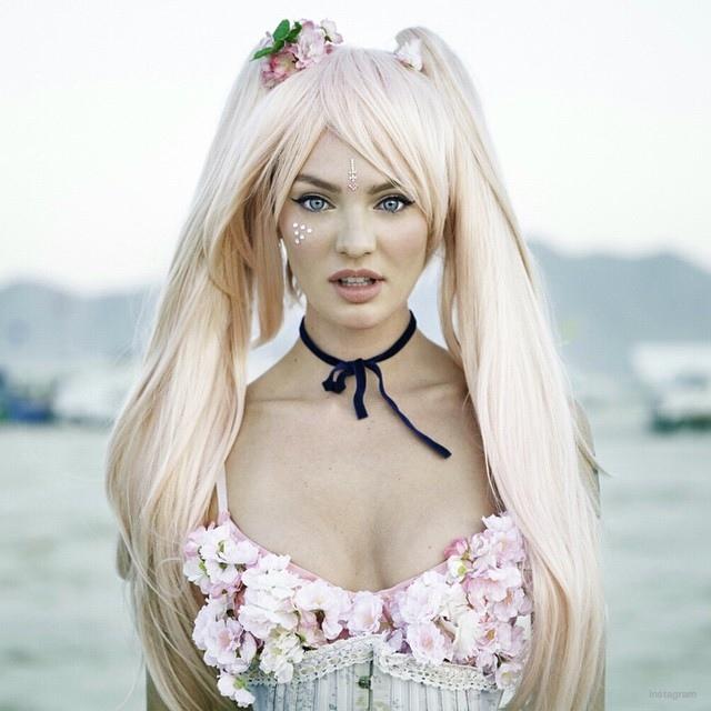 Кэндис Свейнпол превратилась в аниме-персонажа