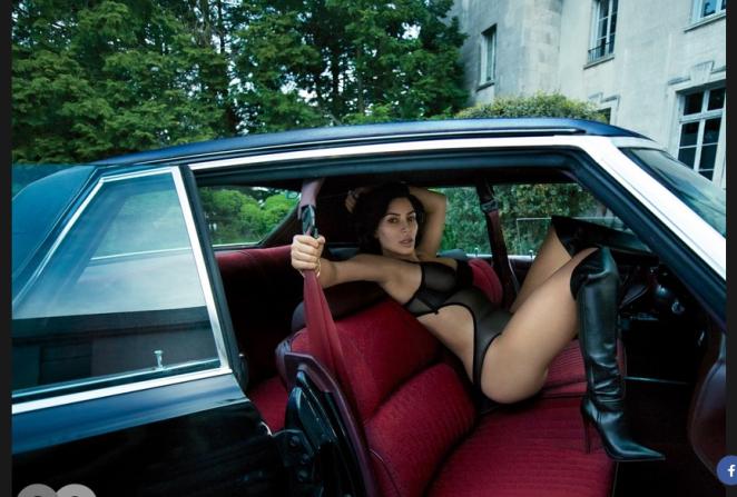 Совершенно голая Ким Кардашьян украсила обложку мужского глянца