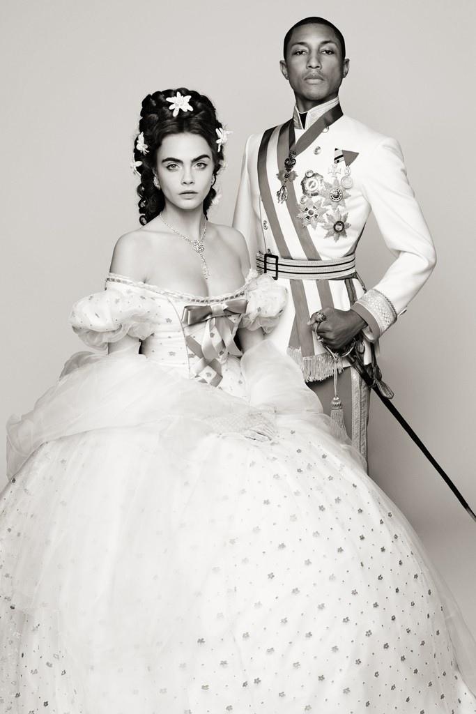 Кара Делевинь и Фаррелл Уильямс снялись в новом мини-фильме Chanel