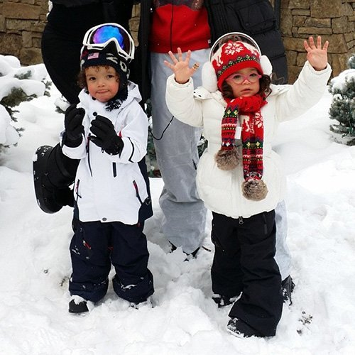 Мэрайя Кэри дети фото