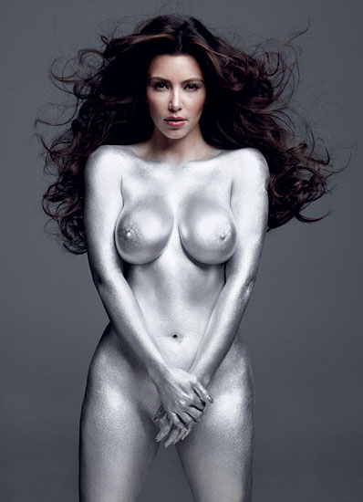 Ким Кардашьян в журнале W Magazine