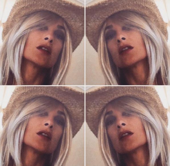 Фотофакт: Сальма Хайек стала блондинкой