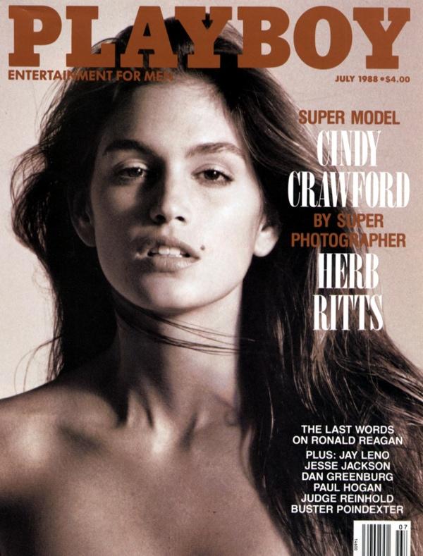 Синди Кроуфорд Playboy июль 1988