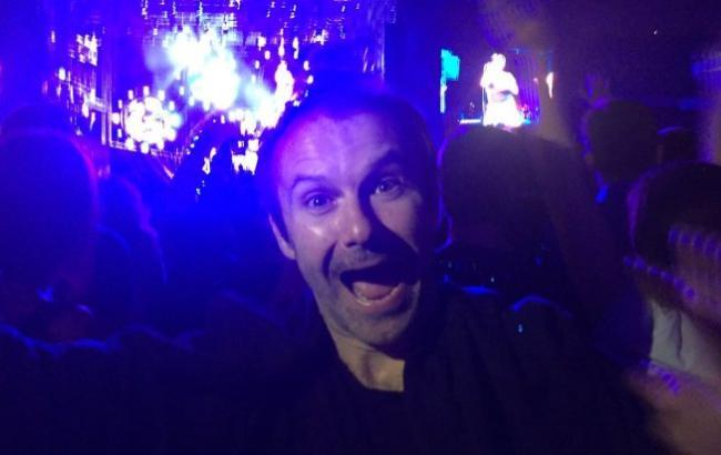 Святослав Вакарчук оторвался в фан-зоне на концерте RHCP