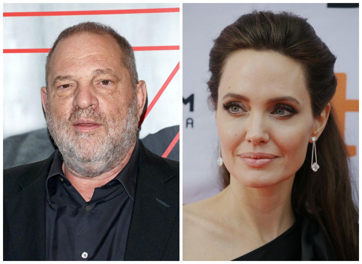 Скандал в Голливуде: Анджелина Джоли шокировала историей о сексуальных домогательствах Харви Вайнштейна