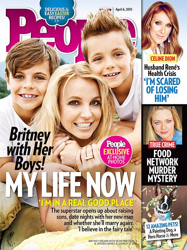 Бритни Спирс: «Мои дети – самое важное, что есть у меня в жизни»