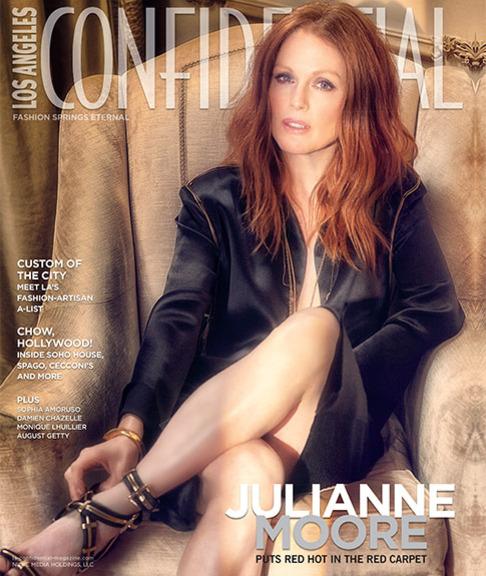 Загадочная и сблазнительная Джулианна Мур снялась для модного издания