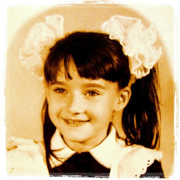 Соломия Витвицкая фото в детстве